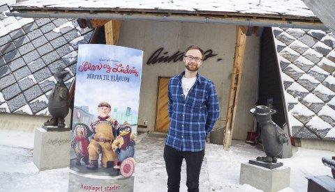 Daglig leder ved Aukrustsenteret, Audun Jøstensen Lutnæs. (Foto: Tonje Hovensjø Løkken)