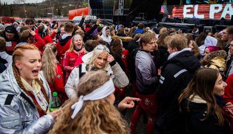 Fra det foreløpig siste russetreffet som er arrangert i Lillehammer. Det ble holdt andre helga i mai 2019.