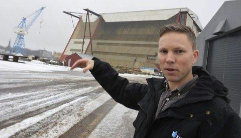 VIKTIG: Den viktigste delen av debatten rundt fastlandsforbindelsen, mener Eirik Sunde, er at man får en enighet. – Usikkerhet er hemmende for næringslivet, sier han.