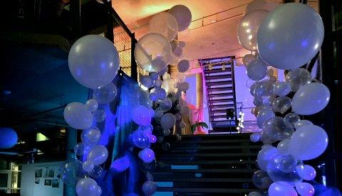 Firmaet har levert ballonger til et utall arrangementer.