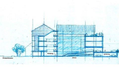 SKISSE: Arkitektene må kunne vise fram noe bedre enn dette.