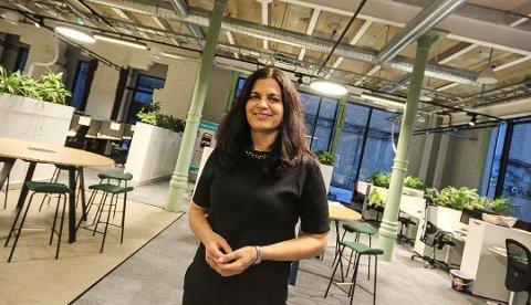 TIL RAKKESTAD: Direktør i NHO Viken og Oslo, Nina Solli, kommer til Rakkestad i november.