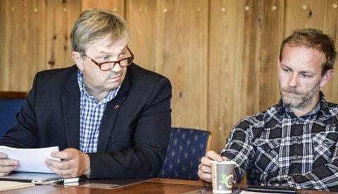 Bare 53 prosent stemte ved årets valg. Ordfører Kjell B. Hansen (Ap) og varaordfører Dag Henaug (H) håper tydeligere debatter i offentligheten kan gjøre noe med engasjementet.