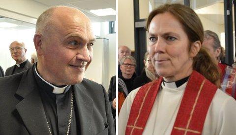 Jan Otto Myrseth og Kristin Moen Saxegaard er begge foreslått som ny biskop i Tunsberg.