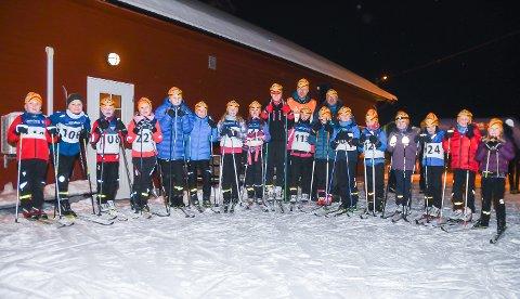 STOR INTERESSE: Soknedalen IL opplever stor økning i antall barn på skitreningene.