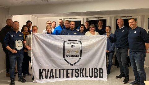 FÅR GOD STØTTE: Nordre Sande IL Fotball ble i 2020 sertifisert som kvalitetsklubb av NFF. Moderklubben er også den foreningen i Sande som får det høyeste beløpet gjennom Grasrotandelen fra Norsk Tipping. (Arkivfoto)