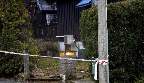 DREPT: Den 77 år gamle kvinnen ble skutt i sitt egen soverom i ekteparets felles hjem på Bjørnstad. foto: Geir Bjørnstad