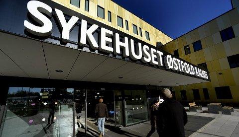 Ikke nå: Styrelederen i Sykehuset Østfold vil ikke ta diskusjonen om Kalnes-sykehuset er stort nok etter bare et par måneders drift.foto: jarl m. andersen
