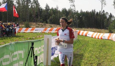 MEDALJE: Veteranen Anne Margrethe Hausken Nordberg håper på VM-medalje.
