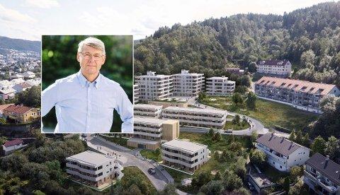 Generalsekretær i Huseiernes Landsforbund, Morten Andreas Meyer, er tydelig misfornøyd med DNB. Foto: Foto: OBOS og Moment studio (montasje, Nettavisen)