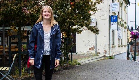 HJEMME: Guro Nyhus Hagen bor til daglig i Oslo, men hjertet hennes banker for Notodden og Telemark.