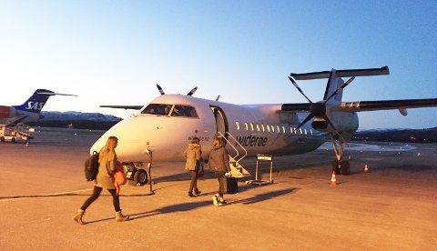 Flytrafikken til og fra Kristiansund har økt med 5,2 prosent hittil i år, men mai-tallene viser nedgang.