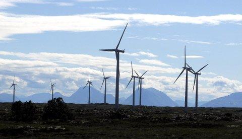 Vindkraft: Aure kommune har kommet med sitt høringssvar til Olje og Energidepartementet.