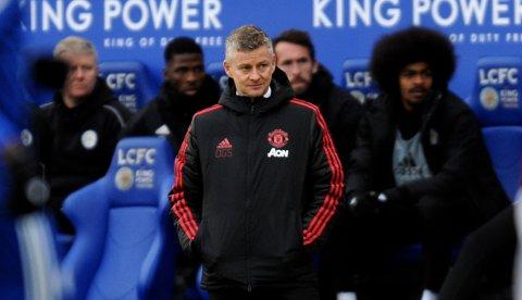 Marcus Rashford ble matchvinner med scoring etter ni minutter da Manchester United slo Leicester 1-0 på bortebane søndag.
