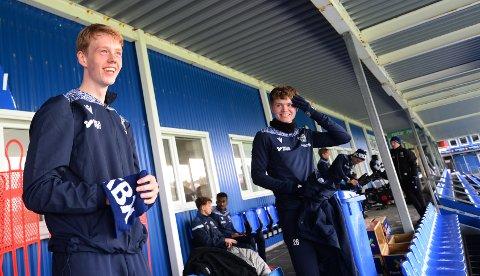 Noah Solskjær måtte tåle litt fleiping fra Max Williamsen og lagkompisene i KBK etter at pappa Ole Gunnar hadde terget på seg José Mourinho søndag kveld.