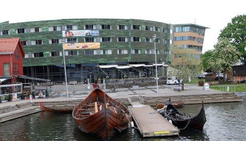 OSEBERG: Hotell og kulturhus – på en av de beste tomtene i byen. Hva synes du?