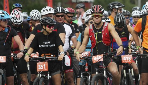 SPREKINGER: Lørdag går Hof Toppers av stabelen igjen. I år er det mulig å bruke el-sykkel.