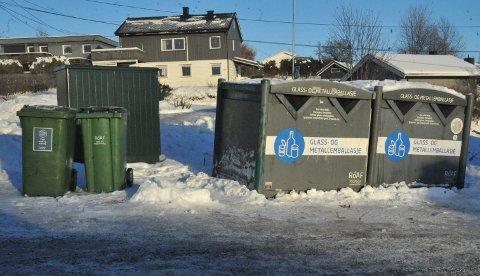 POSEFØLJETONGEN AVSLUTTET: Julas opphopning av plastposer har kommet til en ende etter at området på Hagan ble ryddet fredag.