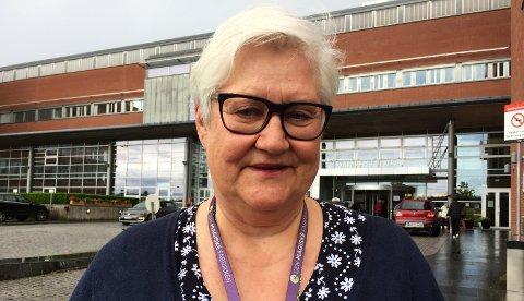 KLIMA OG MILJØ: - Vi har fått til mye innenfor klima og miljø på Sykehuset i Vestfold, mener avtroppende miljørådgiver Lisbeth Johansen.