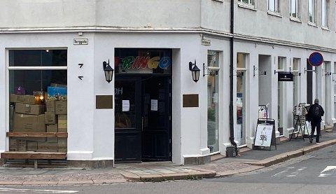STENGT: Leketøysbutikken Ringo i Drøbak stengte i går butikken. FOTO: Ole Jonny Johansen