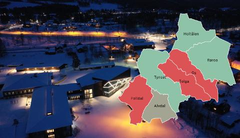 Mellom år 2000 og 2020 har folketallet gått ned i regionen med 878 innbyggere. I samme periode har det flyttet 133 flere inn til regionen enn hva som har flyttet ut. Folldal, Tolga og Os er de eneste kommunene som opplever stor fraflytting.