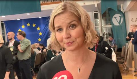 VIL KJEMPE FOR OSLO-FOLK: Venstre-leder Guri Melby frykter ny rødgrønn-regjering.