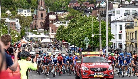 Tour of Norway: Drammen har flere ganger tidligere vært vertskap for herrerittet.