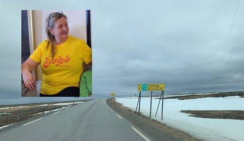 Inger Karin Berg, leder i Gjesvær Helselag, har sendt brev til politikerne i Nordkapp kommune.