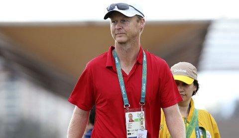 Sommer-OL: Head Coach for Team Norway Golf Jon Karlsen, her fotografert under OL i Rio, var femte hortenser i sommerens OL.