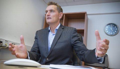 SATSER IGJEN: Henrik Mohn.