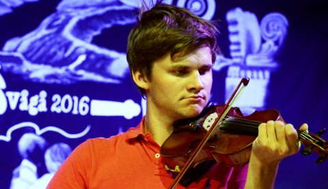 Eirik Schjølberg frå Vågå har spelt seg til finale om Fureprisen.