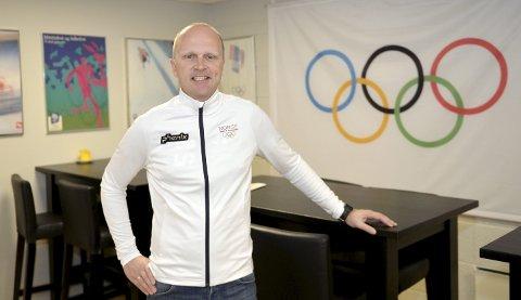 NY JOBB: Jostein Buraas er ansatt som daglig leder i Olympiatoppen Innlandet. Han begynner i jobben senest 1. februar 2019.