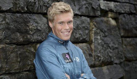 INGEN SOVEPUTE: Martin Løwstrøm Nyenget har ikke tenkt å la friplassen i verdenscupen bli en sovepute. Lillehammer Skiklub-løperen liker å være i form da det viktige rennene starter.
