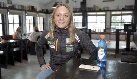TRIVES: Maiken Caspersen Falla trives veldig bra på Lillehammer, og ønsker også å fortsette å bo i OL-byen etter at karrieren er over. Alle Foto: Kjell H. Vollan