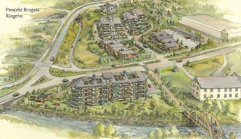 50 leiligheter i Ringebu er planen som nå er presentert for Ringebu kommune.
