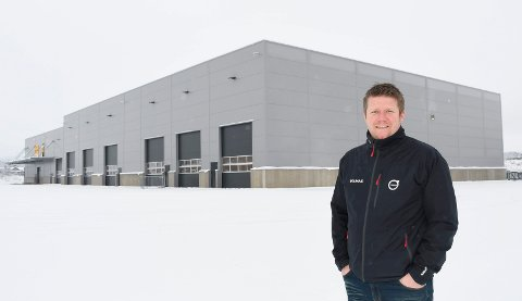 PÅ FLYTTEFOT: Volmax i Nydal er snart klare til å flytte inn i nybygget i IKEA Handelspark Nord. Servicemarkedssjef Kenneth Karlsen gleder seg.