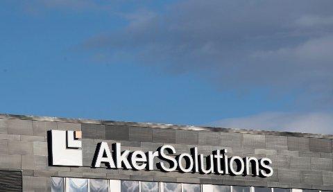 Logoen til Aker Solutions . Foto: Terje Bendiksby / NTB