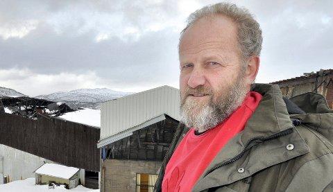 Adm. dir. Olav Bakke i Bleikvassli Gruber melder om krise for bedriften, stor usikkerhet rundt de norske arbeiderne og 19 utlandske arbeidere er permittert og sendt hjem. Arkivfoto: Arne Forbord