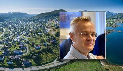 Einar Mustaparta er glad for at området han lekte i som barn nå blir et av Harstads tyngdepunkt, og knytter nordsiden tettere sammen med resten av Harstad.