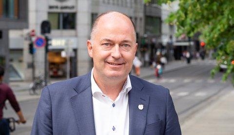 BREVSKRIVER: Morten Stordalen (Frp) har henvendt seg til den nyinnsatte klima- og miljøministeren om Langøya.