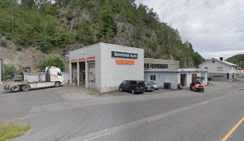 TYVERI: Sannidal Auto AS mangler dekk for flere titalls tusen kroner.