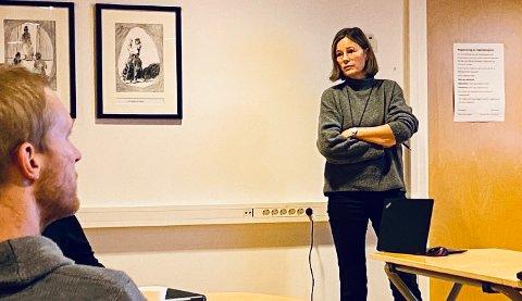NY JOBB: Jorunn Skram har fått ny jobb i statsforvaltningen. Hun har jobbet i Kongsberg kommunes planavdeling siden 2011.
