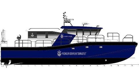 NYTT: Hoveddata Alusafe 2000 MPV ER 21,9 meter, seks meter bred og har en en toppfart på ca 20 knop. Ill: Maritime Partner-design.