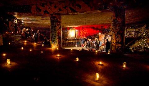TIL MOSS: Konserten «Under en bro» ble arrangert for første gang under Dyvekes bru i Gamlebyen i Oslo. Nå blir det tilsvarende konsert her i byen.