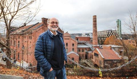 MER ÅPENHET: Styreleder i Moss Gårdeierforening, Yngvar Sommerstad, vil ha mer åpenhet fra Thon Eiendom om fremdriften for ombyggingen av Amfi Moss.