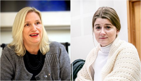 HØYRE OG HØYRE: Høyre-politiker og styreleder Grete Ellingsen (til høyre) har ansatt Høyre-politiker Line Fusdahl (til venstre) som ny daglig leder ved Nordnorsk kunstmuseum.
