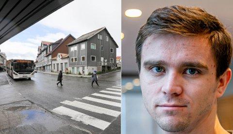 OVERRASKELSE: SV-politikeren innrømmer at stenginga av Skippergata ikke var forventet da kommunestyret behandlet saken.