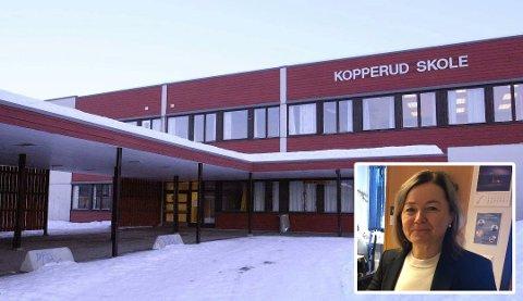 NYE KARANTENER: Kopperud skole har fredag måtte sette nye personer i karantene som følge av koronasmitte.