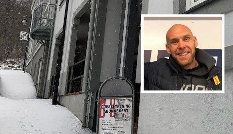 STENGER DØRENE: Mudo treningssenter i Larvik stenger dørene. Truls Lien sier det ble for vanskelig å drive videre.