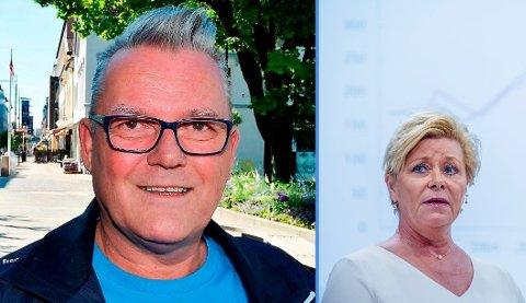 KLOKKEKLAR: Johan Aas i Innlandet Frp er klar på at partileder Siv Jensen må levere for å beholde ministerposten.